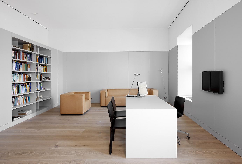 David Chipperfield Architects - Praxis Dr. Müller Wohlfahrt, München - Praxiszimmer - Architekturfotografie